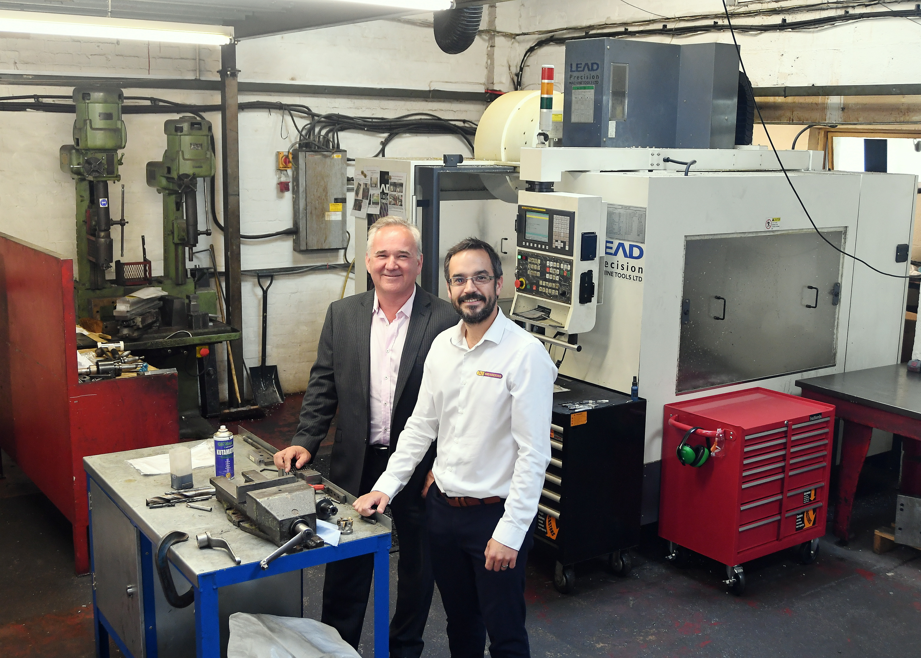 Warwickshire Engineering Firm is Growing after Business Ready Support