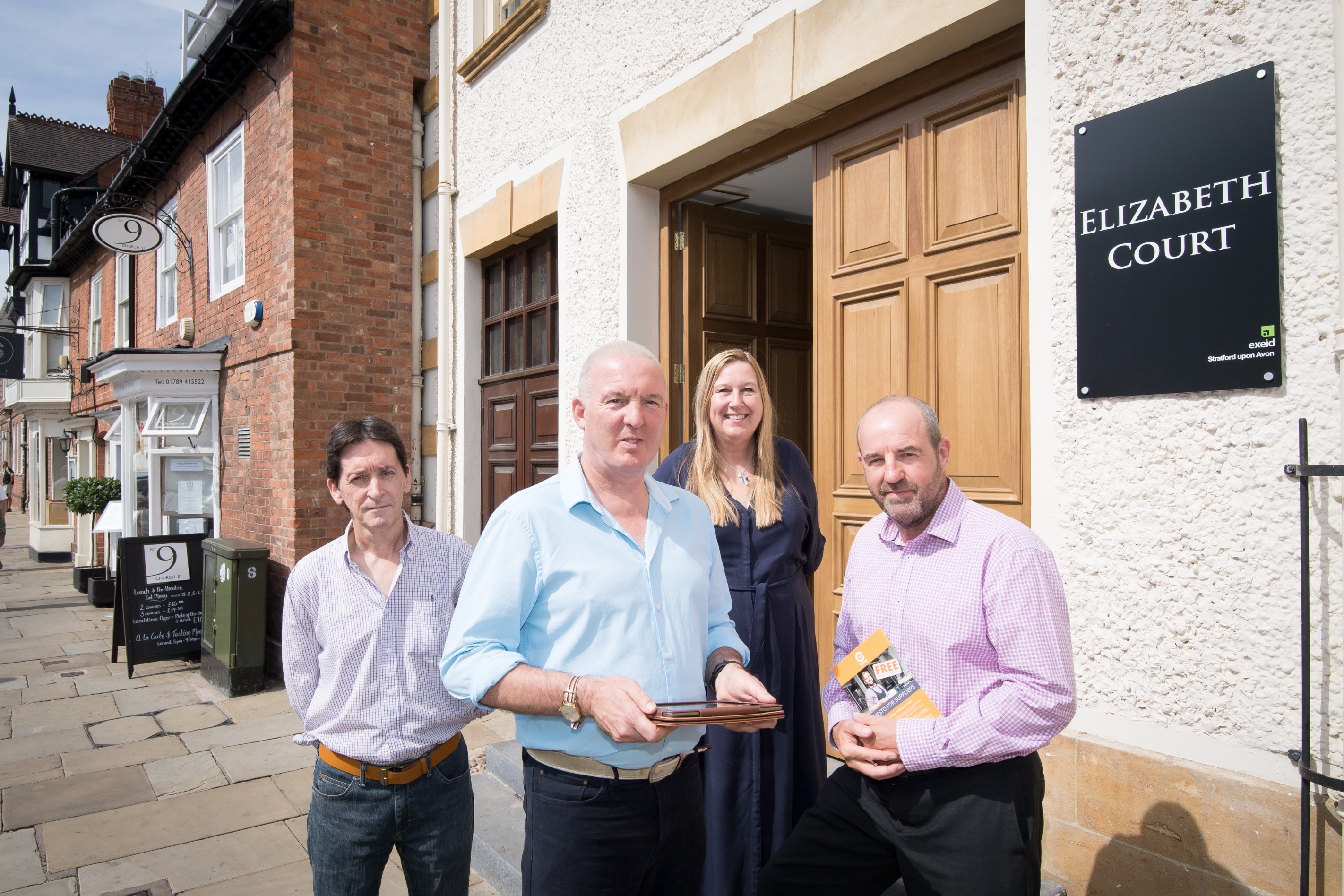 Support on the menu for new technology firm