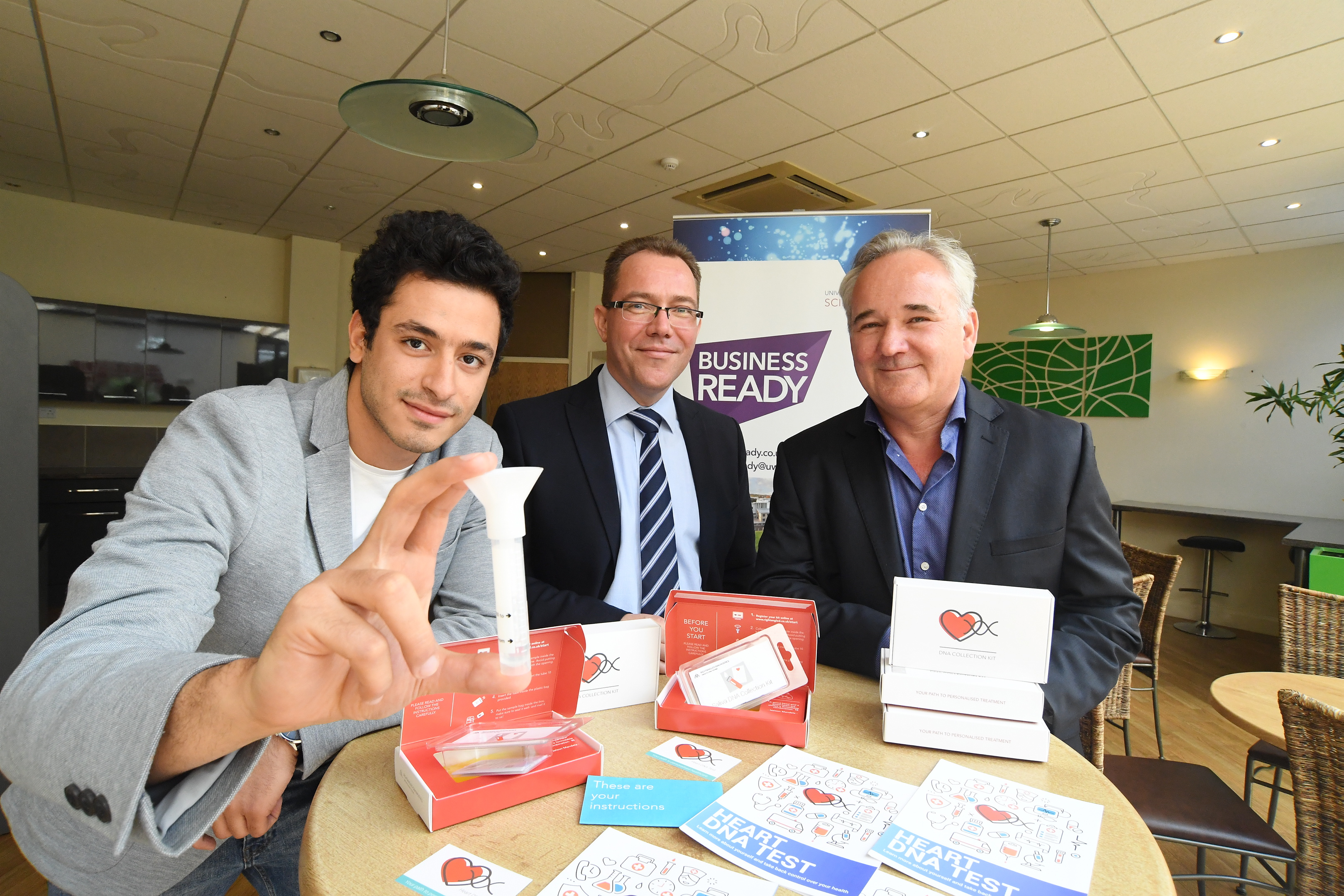 Warwick student given Business Ready backing to launch heart DNA test
