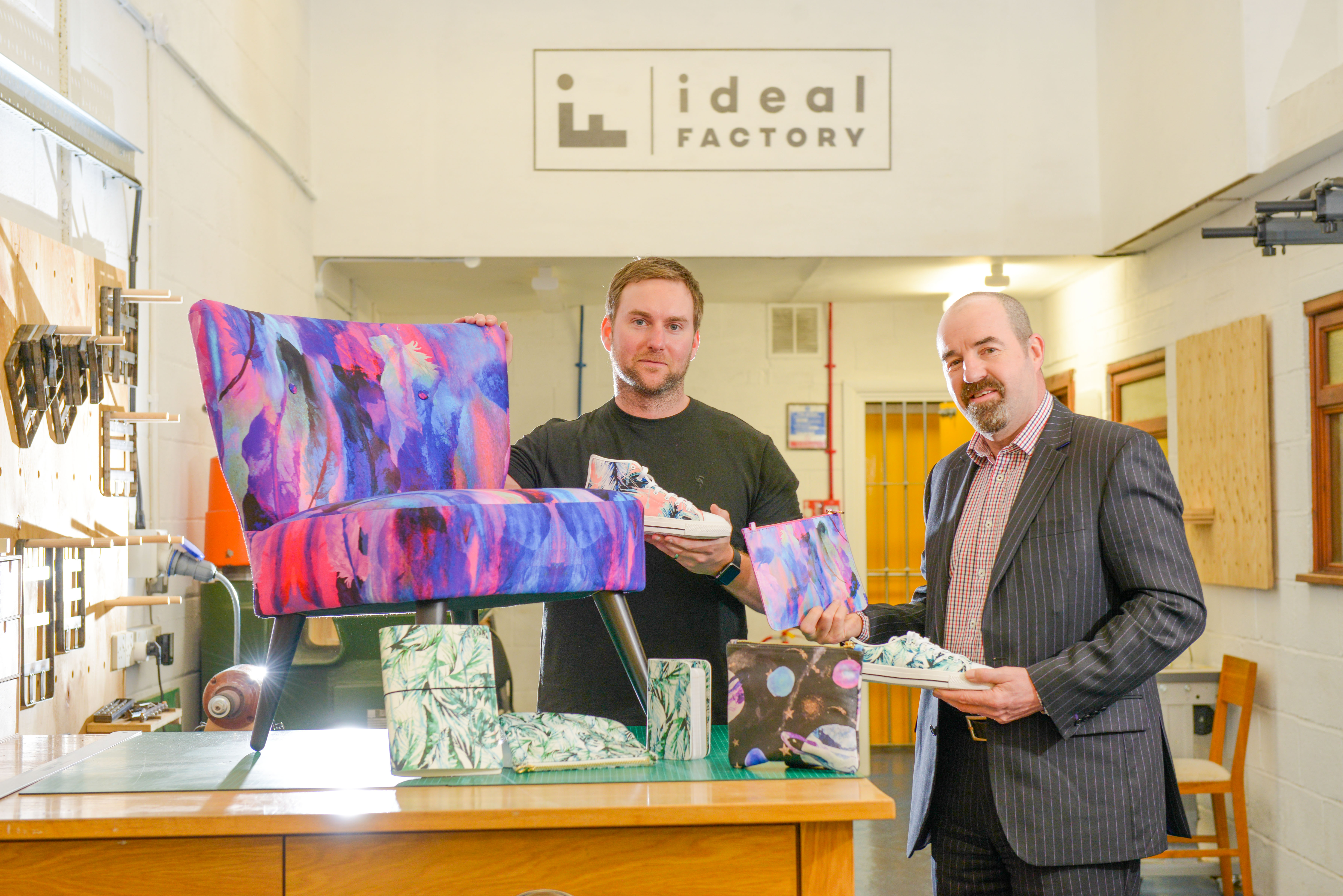 Design and manufacturing studio grows 80% after Business Ready support