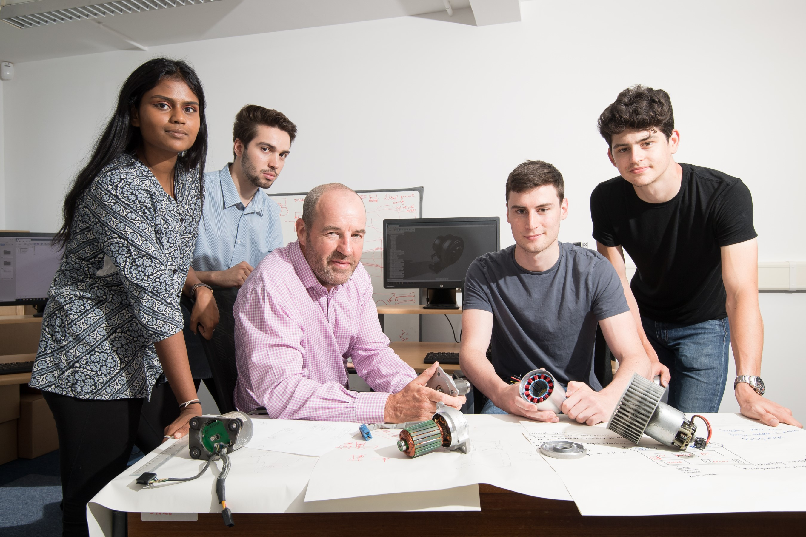 Warwick students design a new product – in their holidays!