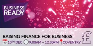 Raising Finance workshop banner