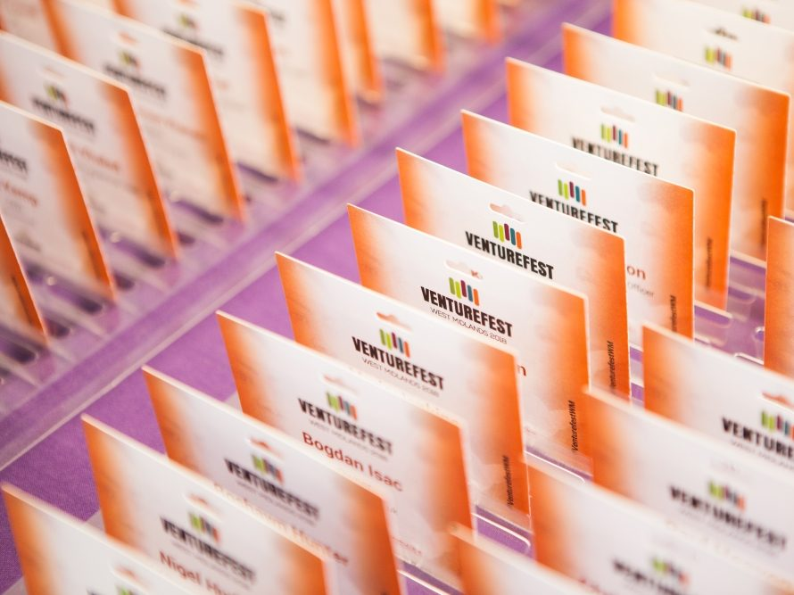 Two organisations urging businesses to attend Venturefest West Midlands