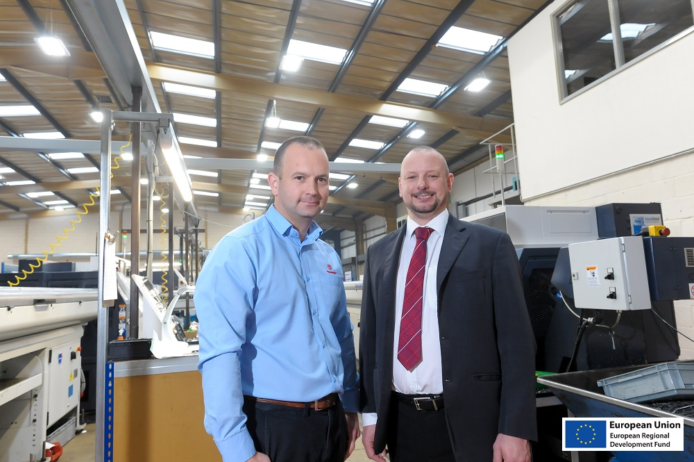 Engineering firm upgrades its lighting and heating to go green