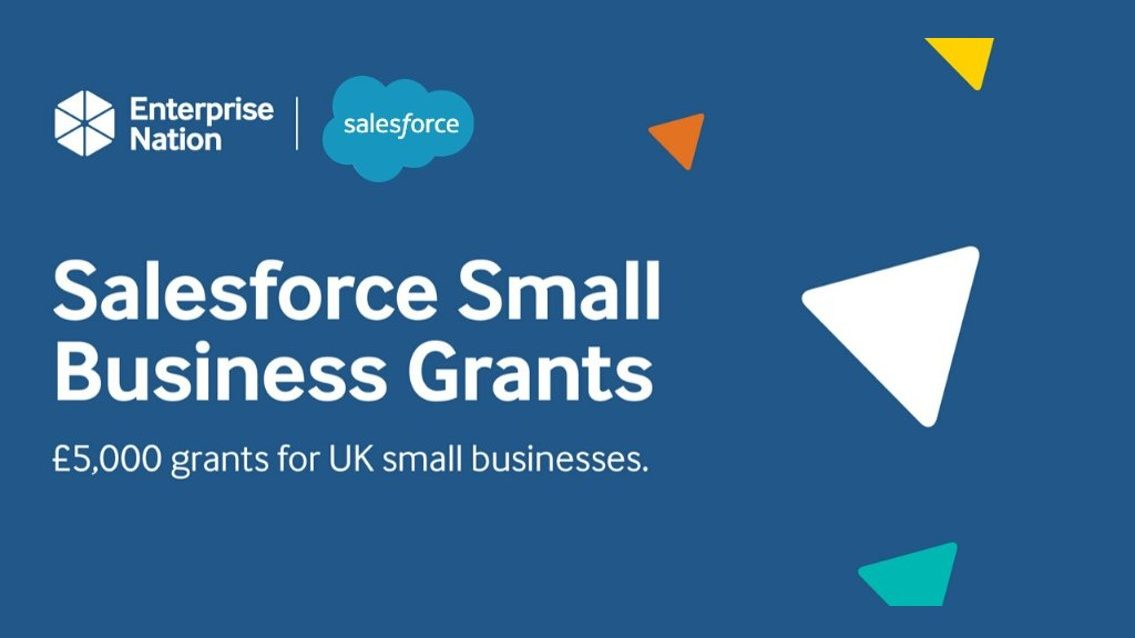 Salesforce small business grants announced