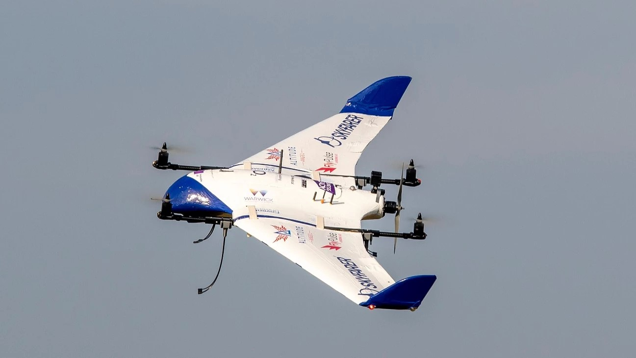 Telecoms giant joins Skyfarer's drone delivery consortium